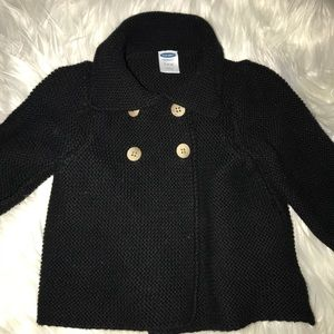 3-6 month old navy sweater
